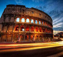 Colosseum Lite Trails by Yhun Suarez