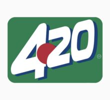 420 soda pop stickers by mouseman