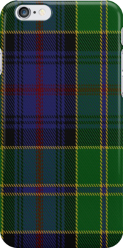 00403 Baron of Greencastle Hunting Tartan Fabric Print Iphone Case by Detnecs2013