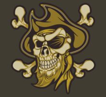 Pirate Skull by SmittyArt