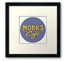 "Monk's Cafe - as seen on ""Seinfeld"" Framed Print"