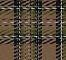 00416 Cavalier Brown Tartan Fabric Print Iphone Case by Detnecs2013