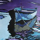 rowing boat 4 by Moira Ladd