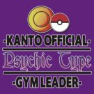 Kanto Psychic Type Gym Leader by ydt89