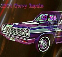 Oh Yeah, A 1964 Chevy Impala, Those Were the Days by Charldia