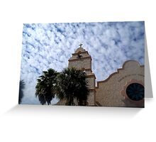 Upon this rock will I build my church - The Villages, Florida Greeting Card