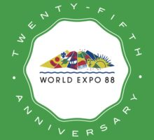 Expo 88 25th Anniversary Seal by Urso Chappell