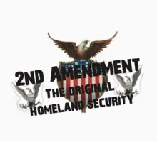 Best Seller 2nd Amendment Original Homeland Security  by sturgils