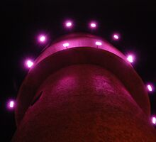 Water tower lighting by unstoppable