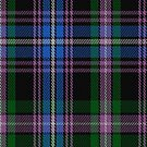 00433 Auld Lang Syne Blue Tartan Fabric Print Iphone Case by Detnecs2013