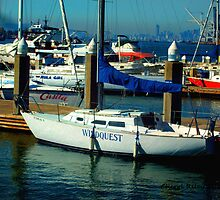 Boats at Jack London Square by paintingsbycr10