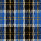 00445 Bannockbane Blue Tartan Fabric Print Iphone Case by Detnecs2013
