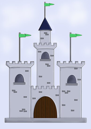 Cartoon Castle Bed Mattress Sale