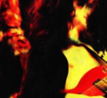 Led Zeppelin - Digital Painting Sticker