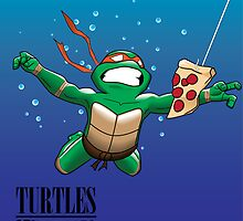 Ninja Turtle Nevermind by MrHSingh