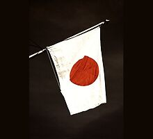 Japanese Flag iPhone iPod Case by wlartdesigns