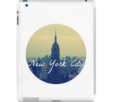 Empire State Circular iPad Case/Skin