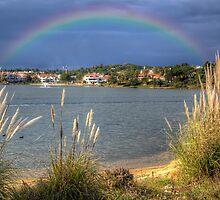 Rainbow Lake by manateevoyager