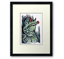 Scary Goblin Framed Print