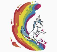 Rainbow Surf by Clair C