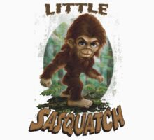 Little Sasquatch Art for Kids by MudgeStudios