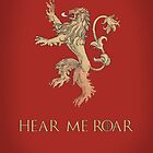 Hear me roar - Game of Thrones by MCellucci