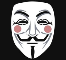 Anonymous/Guy Fawkes mask by LaundryFactory
