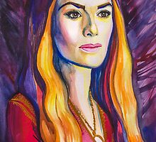 Game of Thrones- Cersei Lannister by Slaveika Aladjova