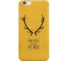 Ours is the Fury - Game of Thrones iPhone Case/Skin