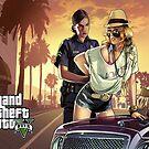 GTA V Poster by flemdogga