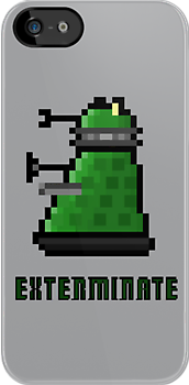 8Bit EXTERMINATE by mikasierra