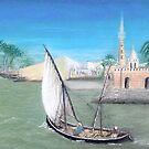 Nile Scene by WILT