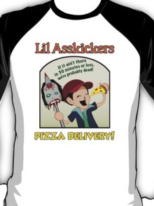 Lil Asskickers Pizza Delivery T-Shirt