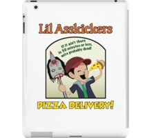Lil Asskickers Pizza Delivery iPad Case/Skin