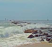 Jetty - Island Beach State Park NJ by MotherNature