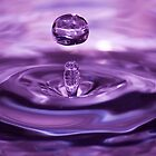 Water droplet by Jennifer Vollebregt