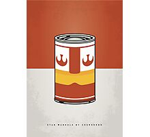 MY STAR WARHOLS LUKE SKYWALKER MINIMAL CAN POSTER Photographic Print