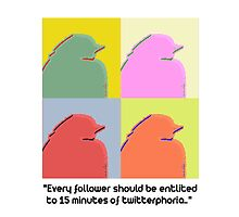 Every follower should be entitled to 15 minutes of twitterphoria by thebeautiplace