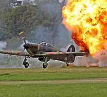 Hurricane Scramble at Shoreham by Shane Ransom
