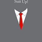 Suit UP - gray by Maggie Cellucci