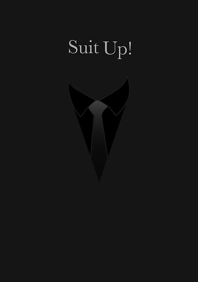 Suit UP - black by MCellucci