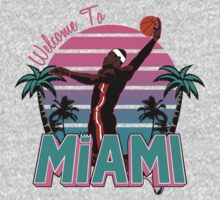 "VICTRS "" Welcome To Miami"" South Beach Kids Clothes"