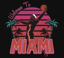 "VICTRS ""Welcome To Miami"" Floridian Kids Clothes"