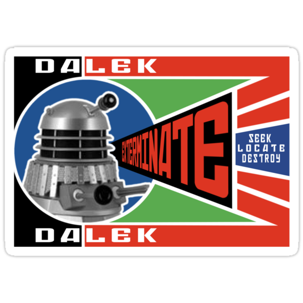 Dalek Deconstructivism by ToneCartoons