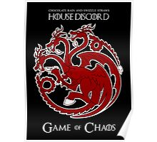 House Discord - Game of Chaos Poster