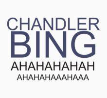 OH MY GAWD, CHANDLER BING. by Megan Jayne
