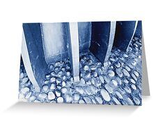 Cobbles and Steel Greeting Card