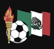 Mexico Soccer by SportsT-Shirts