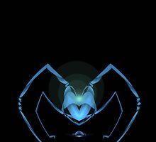 Curvilinear Project No. 44 ( Don't Look Into The Eyes Of The Blue Spider ) by CurvilinearArt