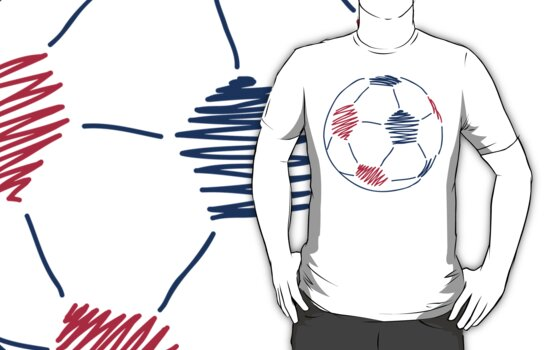 Soccer Ball by SportsT-Shirts